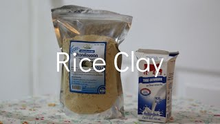 Apply Rice Clay Mask Change Skin Complexion Overnight Face Pack for Oily Skin Large Pores