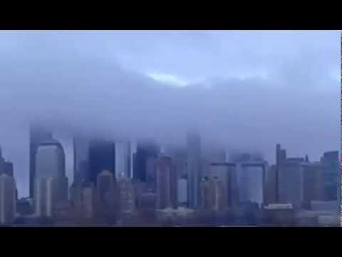 Creepy Cloud Drifting Past NYC.