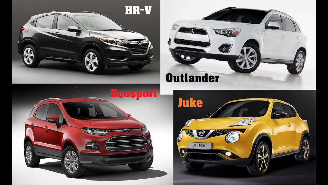 Compare hrv with ecosport autos post for Compare honda crv and hrv