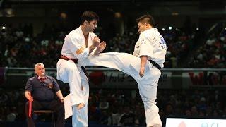 第11回全世界空手道選手権大会 4回戦16 タマス・ポポヴィッチ vs 島本...