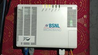 BSNL FTTH Bharat Fiber 777 50 Mbps Plan Installation & Speed-Test (2019)!