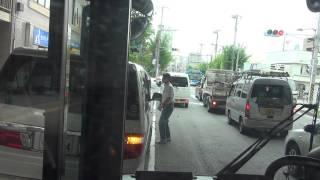 迷惑路肩駐車の自家用車、路線バスに強烈クラクション鳴らされる 【川崎市バス】