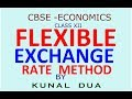 Flexible exchange rate system (Hindi / English)