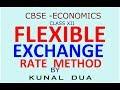 Flexible exchange rate system (Hindi / English)