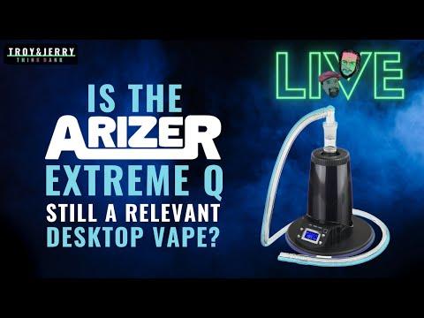 Is the Arizer Extreme Q still a relevant Desktop Vape? // Arizer EQ vs Volcano vs Ditanium vs OTHER