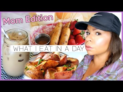 WHAT I EAT IN A DAY | NOT HEALTHY + NON-VEGAN | REAL LIFE MEALS OF A STAY AT HOME MOM