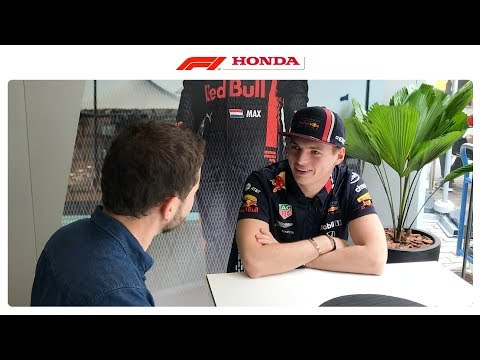 END OF YEAR CATCH UP w/ MAX VERSTAPPEN | Powered by Honda | Honda Racing F1