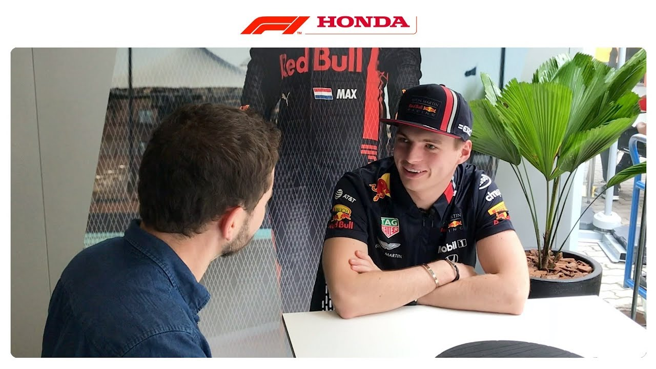 End Of Year Catch Up W Max Verstappen Powered By Honda
