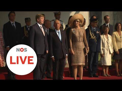 LIVE: Koning en koningin beginnen aan het staatsbezoek aan Portugal