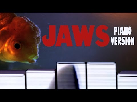 Jaws Theme  All Piano Version
