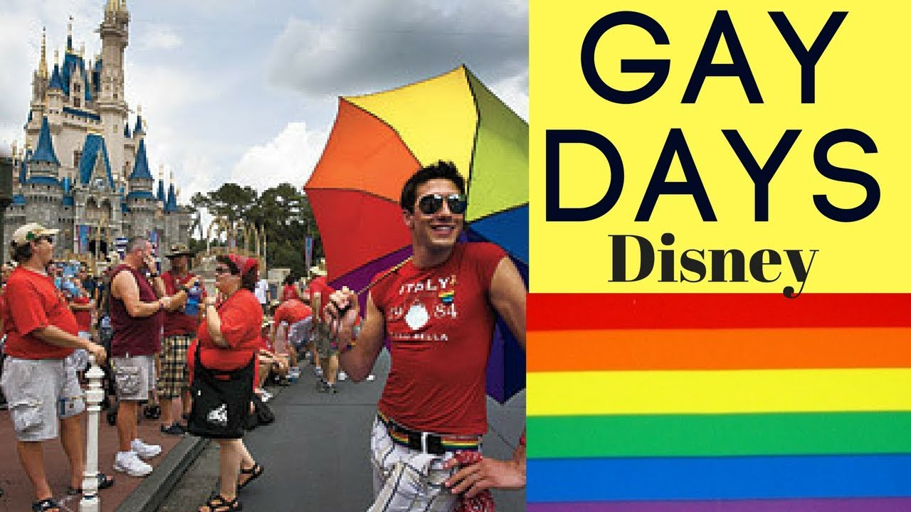 from Rolando gay pride week disney world