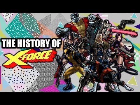 The History Of X-Force - Superhero Spotlight