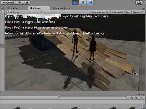 UnityでFuseの3Dキャラを取り込んでゲーム感覚のアニメーション