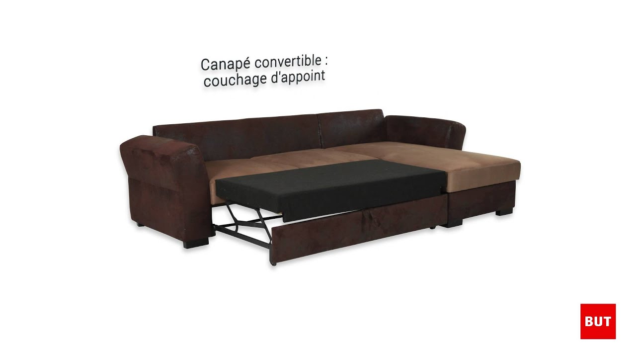 canap d 39 angle convertible marrakech but youtube. Black Bedroom Furniture Sets. Home Design Ideas