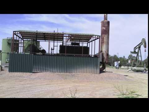 Gas Compressor, San Juan Basin, New Mexico