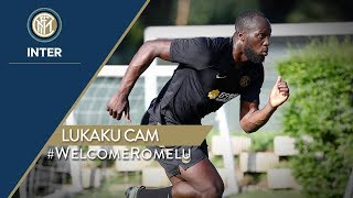 ROMELU LUKAKU CAM | FIRST TRAINING SESSIONS WITH INTER! | #WelcomeRomelu 🔥⚫🔵