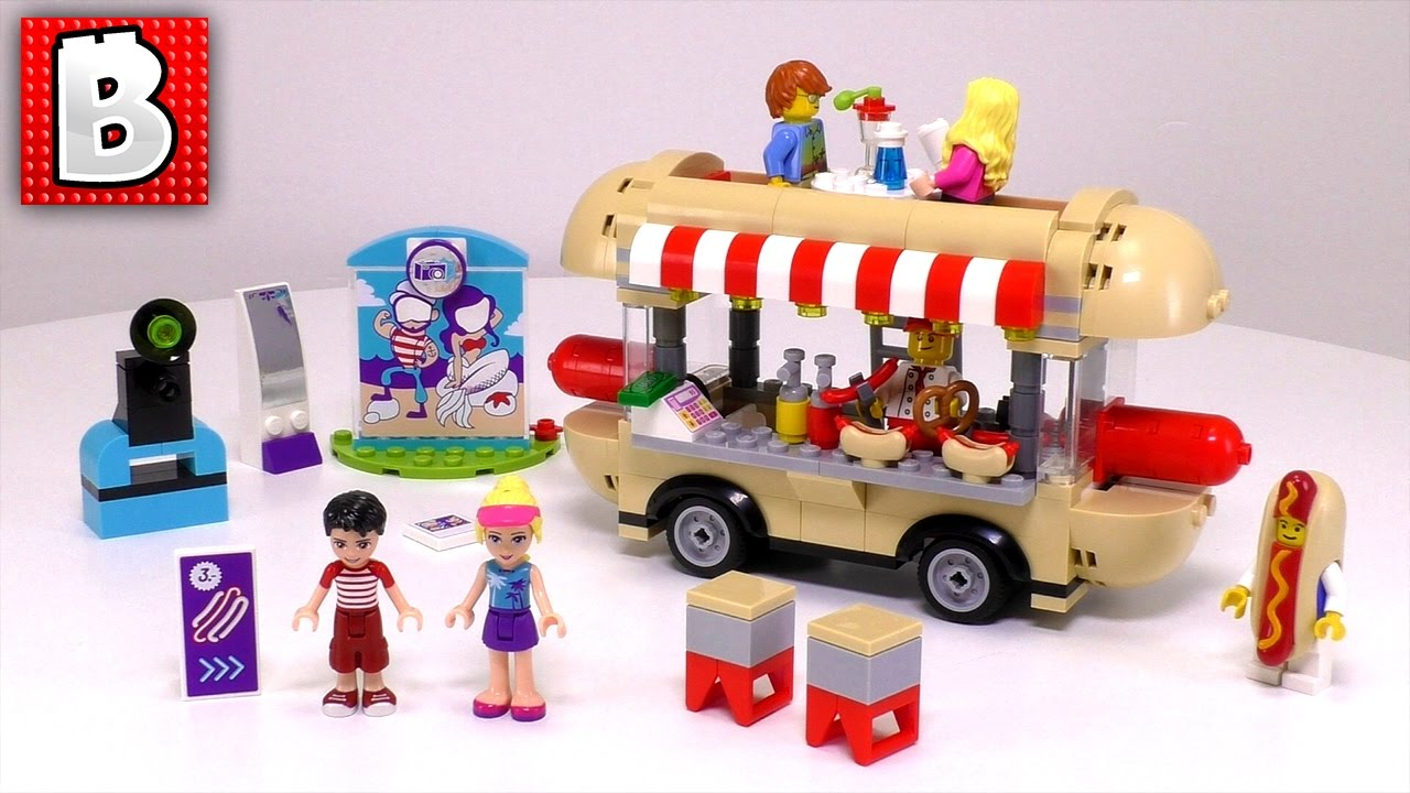 Lego Friends Set Amusement Park Hot Dog
