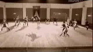 """Хореографическая картина """"Футбол"""". Постановка 1936 г."""