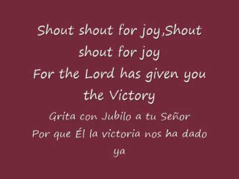 Shout for Joy/ I've got the Victory Dave Bell - Juan Carlos Alvarado Lyrics