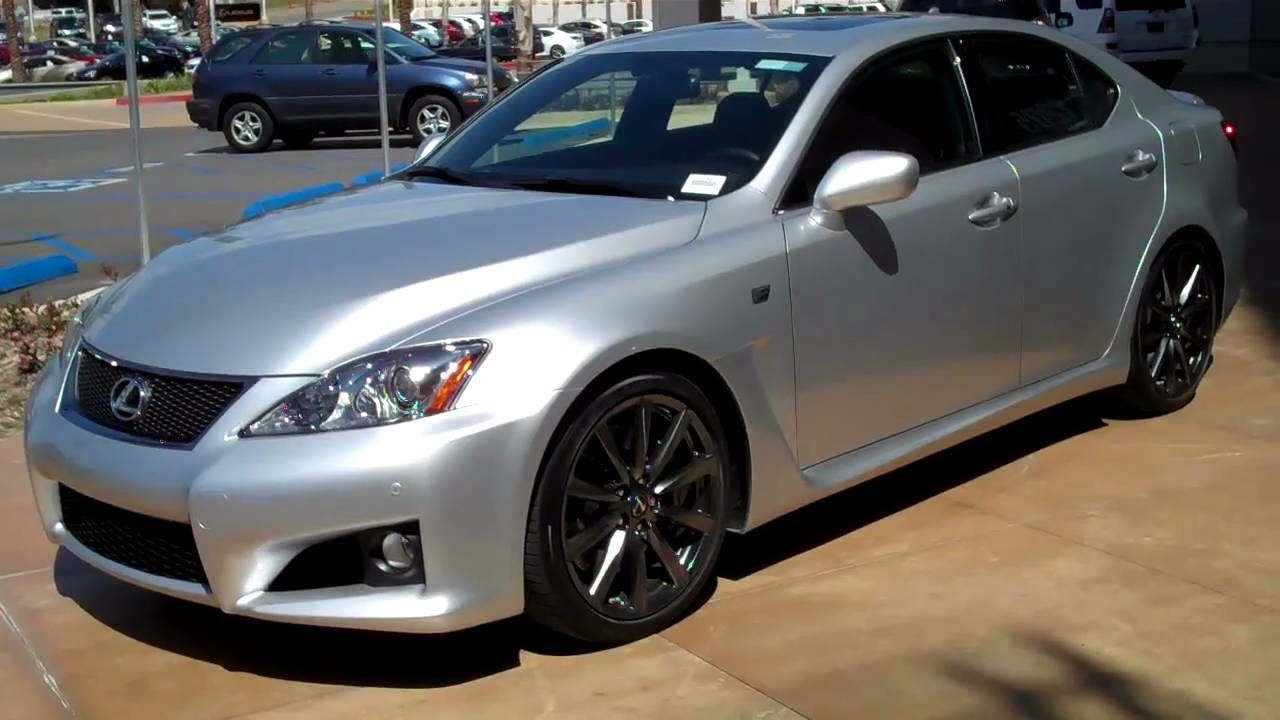 2008 lexus is f certified pre owned for sale youtube. Black Bedroom Furniture Sets. Home Design Ideas