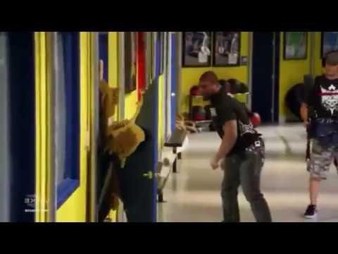 Rampage Jackson Fixes Door Youtube