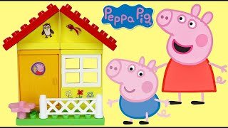 PEPPA PIG Garden House Construction Set with George & Friends