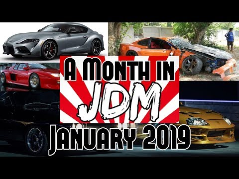 A Month in JDM | January 2019 - 2020 Supra Turbo, Mazda Record, Nissan Sees Around Corners & More