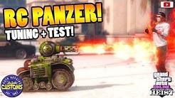 😂🛠Neuer GRATIS RC PANZER!😂🛠 Tuning + WaffenTest! [GTA 5 Online Casino Heist Update DLC]