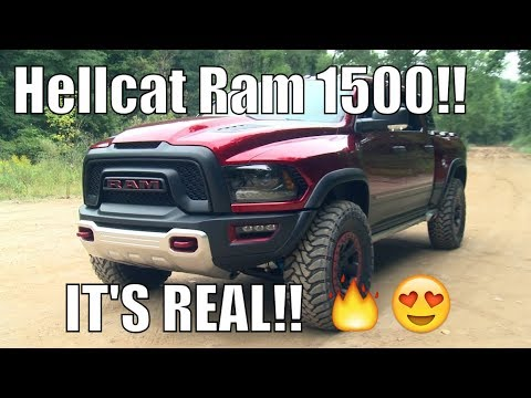Hellcat Ram 1500 LEAKED! Test Vehicles SPOTTED!