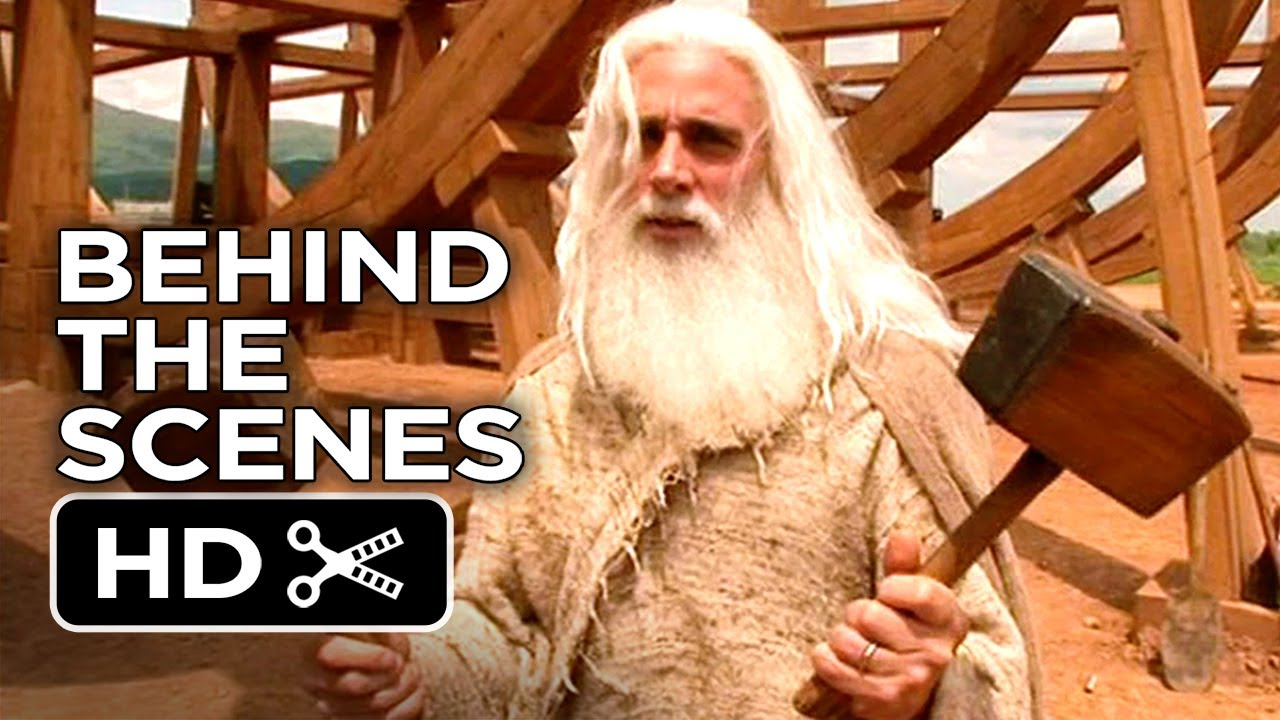 Evan Almighty Behind The Scenes Ark Utensils 2007 Steve Carell