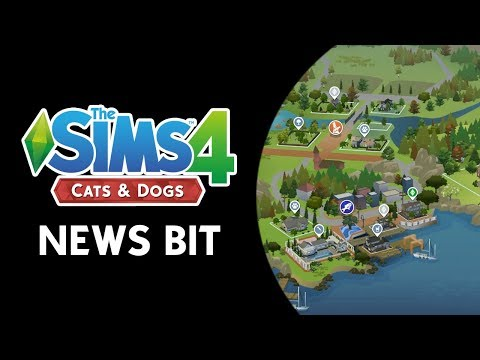 The Sims 4 News Bit: Pets In Apartments, Running A Vet, World Map, & More! (NEW INFO)