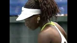 2001 San Diego final: Venus Williams (last game)