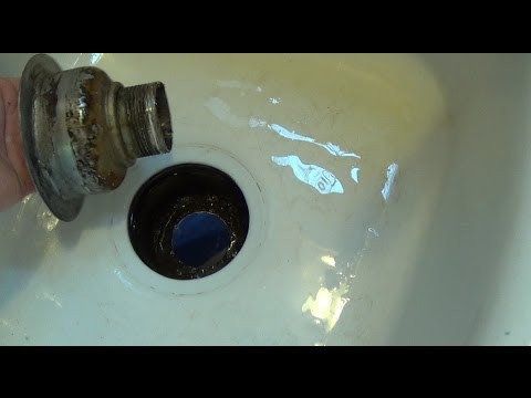 How To Replace A Kitchen Sink Strainer Sink Drain Youtube