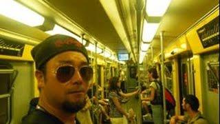 アキーラさん利用②イタリア・ナポリ・地下鉄!Metro,Napoli,Italy