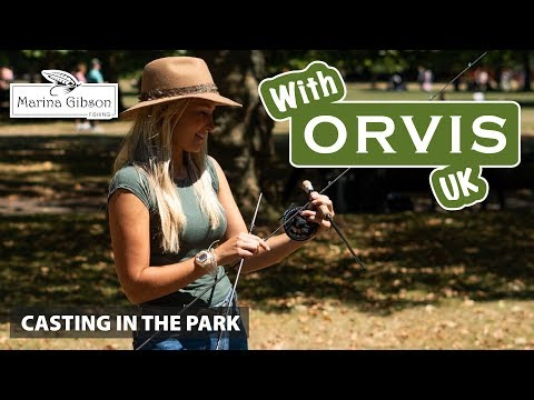 Casting In The Park With Orvis UK & Marina Gibson