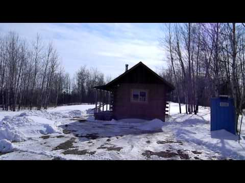 120 Acres and Log Cabin For Sale in Chippewa County, WI