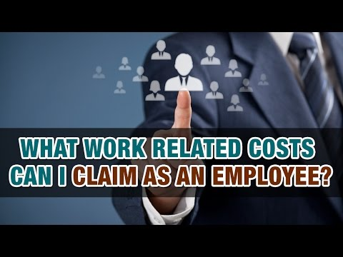 What Costs Can I Claim Against My Taxes For Going To Work? - Tax Tip Weekly