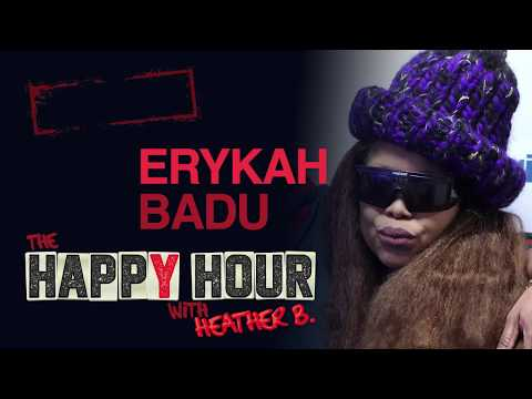 Erykah Badu shares HILARIOUS story of how she almost Ran Over Her Ex! |The Happy Hour with Heather B