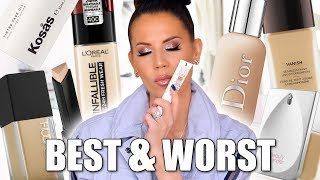 Download BEST & WORST FOUNDATIONS | Luxury & Drugstore Mp3 and Videos