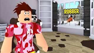 I Was ROBBED Mid Video.. He Stole Everything! (Roblox Bloxburg)