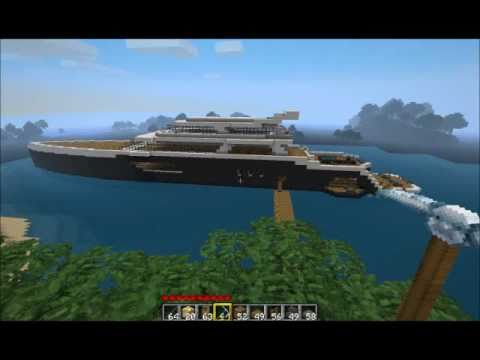 Minecraft Luxury Yacht 2 0 YouTube