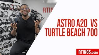 Astro A20 vs Turtle Beach 700 Gaming Headsets Review - Rtings.com