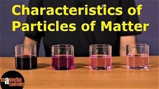 Matter in Our Surroundings : Characteristics of Particles of Matter
