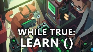 While True: learn() - Machine Learning & Visual Programming Simulator