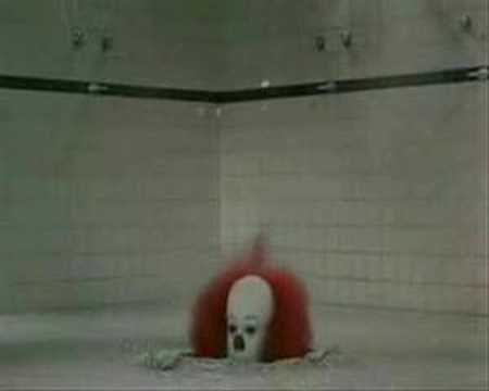 It Shower Drain Scene.Tim Curry Pennywise It