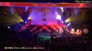 XII Forum Humanum Mazurkas otwarcie koncertu-Andrzej Bartkowski, Justyna Reczeniedi, K.A.Krzeszowiak