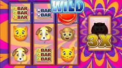 EMOJI MOJO Video Slot Casino Game with an EMOJI FREE SPIN BONUS
