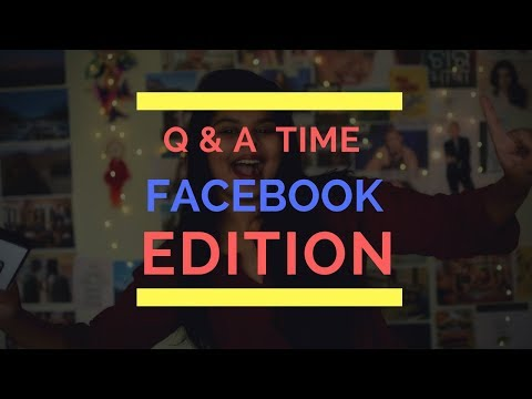 Q & A TIME WITH SUBHA :) FACEBOOK EDITION! #BondaArmy