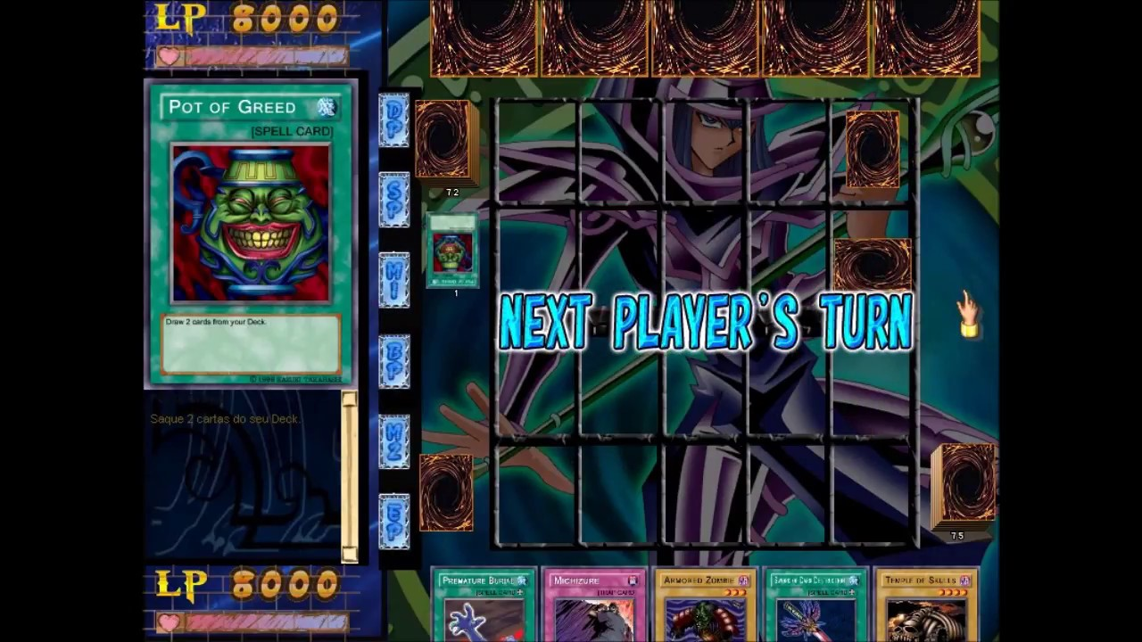 Yu-Gi-Oh! Power of Chaos MOD - Testing out Zombie Deck