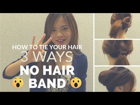 3 NO Hairband Hairstyle